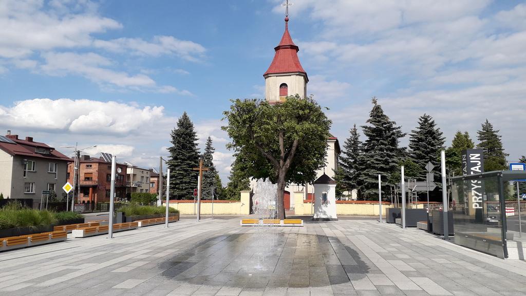 Kościół i Rynek w Przystajni