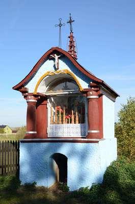 Kapliczka Borze Zajacińskim