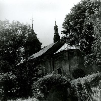 Kościół  w Przystajni (1910 r.)
