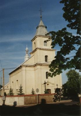Kościół w Przystajni (2000 r.)