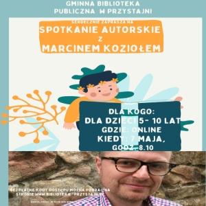 Spotkanie autorskie z Marcinem Koziołem.jpeg