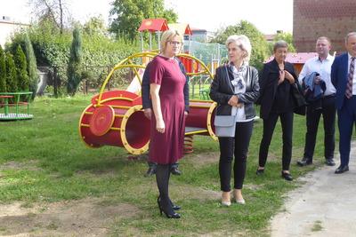 Galeria Uroczystość po modernizacji preszkola w Przystajni