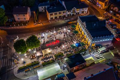Galeria Otwarcie Rynku cz.5 widok z drona